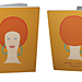 Petit cahier spirales Lady Niowk afro rousse (Recto/Verso)